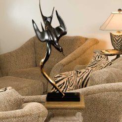 Bronze Arctic Tern Sculpture-1