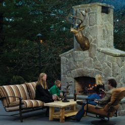 Bronze Mule Deer Shoulder Mount Sculpture-1