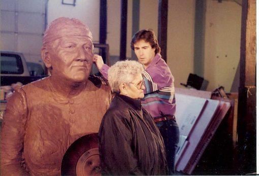 Martha Jane Bronze Monument-3